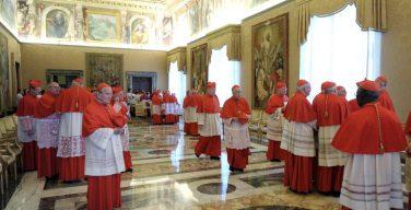 Папа Франциск внес изменения в структуру Коллегии кардиналов