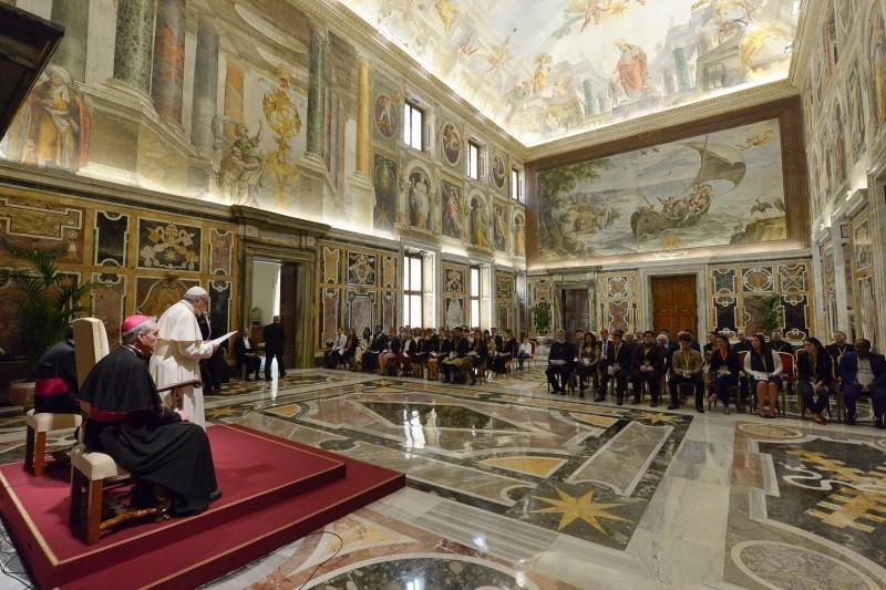 Папа пожелал ученым-астрофизикам новых успехов в познании Вселенной