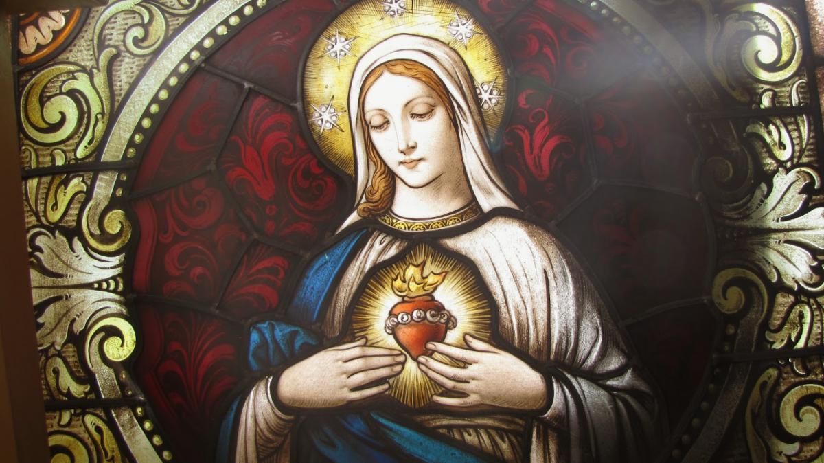 12 июня. Непорочное Сердце Пресвятой Девы Марии. Память