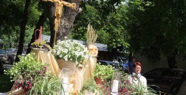 Праздник Пресвятых Тела и Крови Христа в главном храме Архиепархии Божией Матери в Москве (ФОТО)