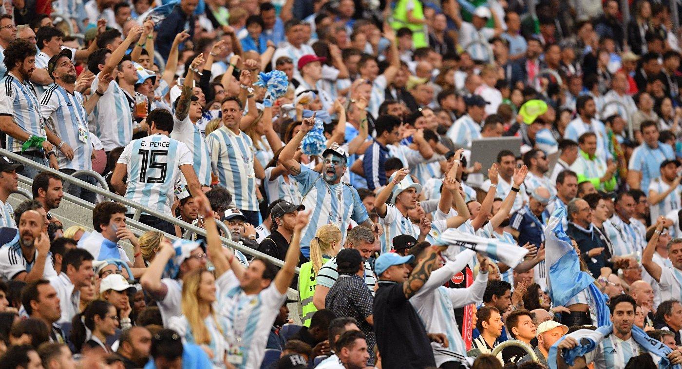 Власти Аргентины попросили наказать болельщиков, которые использовали незнание языка для насмешки над людьми