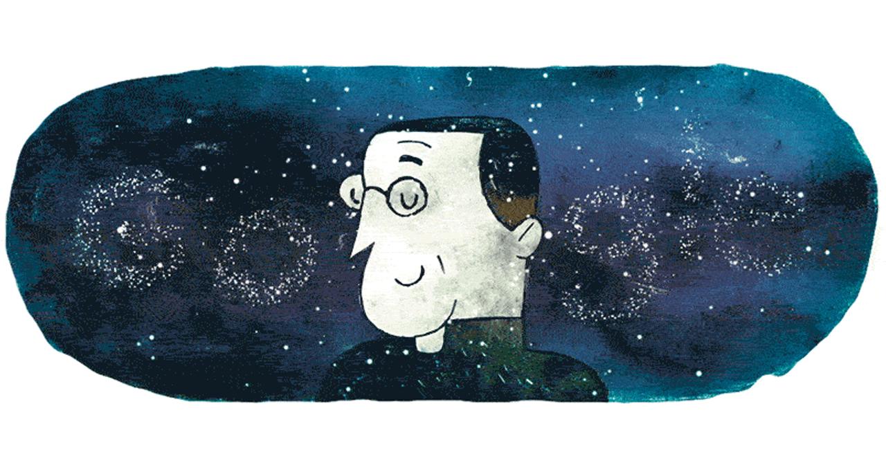 Google почтил память иезуита Жоржа Леметра, автора теории расширяющейся Вселенной и Большого взрыва