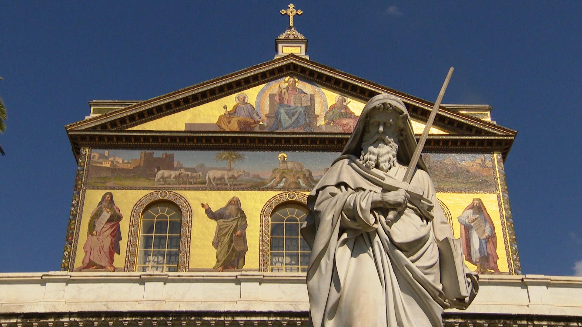 Базилика Святого Павла вне Стен поможет перенестись в средневековый Рим (+ ВИДЕО)