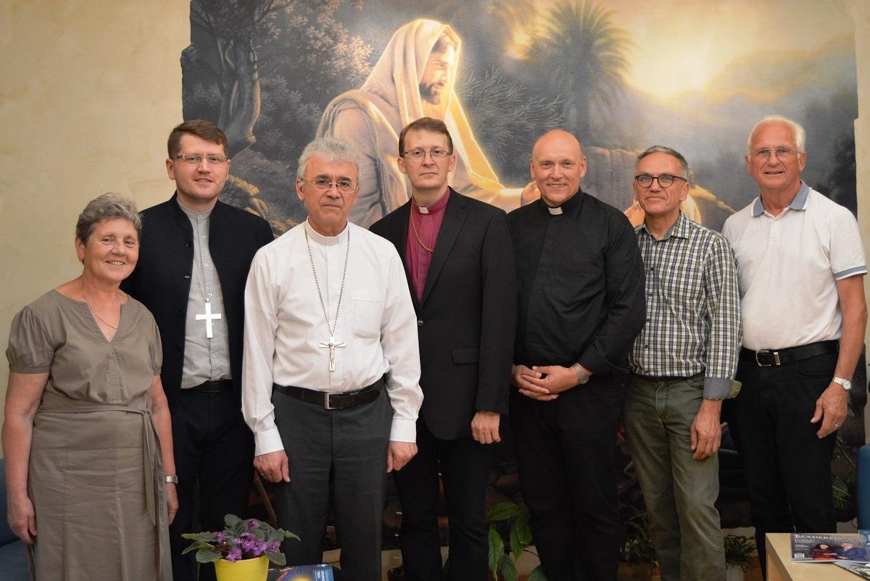 Курию Преображенской епархии посетила делегация Лютеранских Церквей из Германии и России