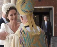 В Великобритании крестили принца Луи