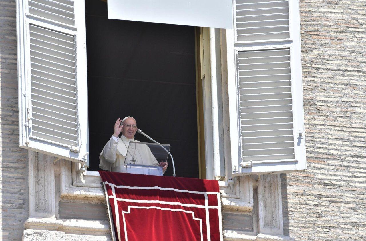 Слово Папы Франциска перед молитвой «Ангел Господень» в 13-е Рядовое воскресенье. 1 июля 2018 г., площадь Св. Петра