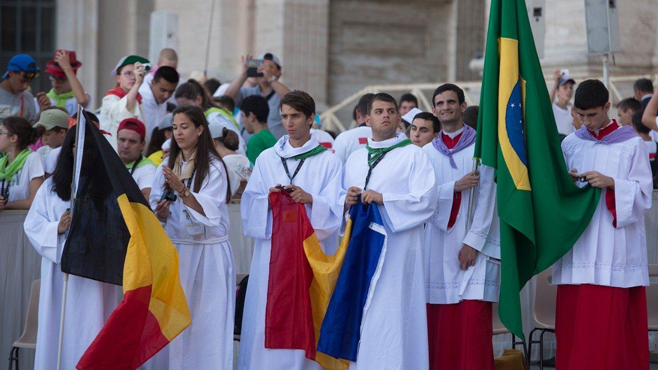В Риме соберутся 60.000 юных паломников-министрантов
