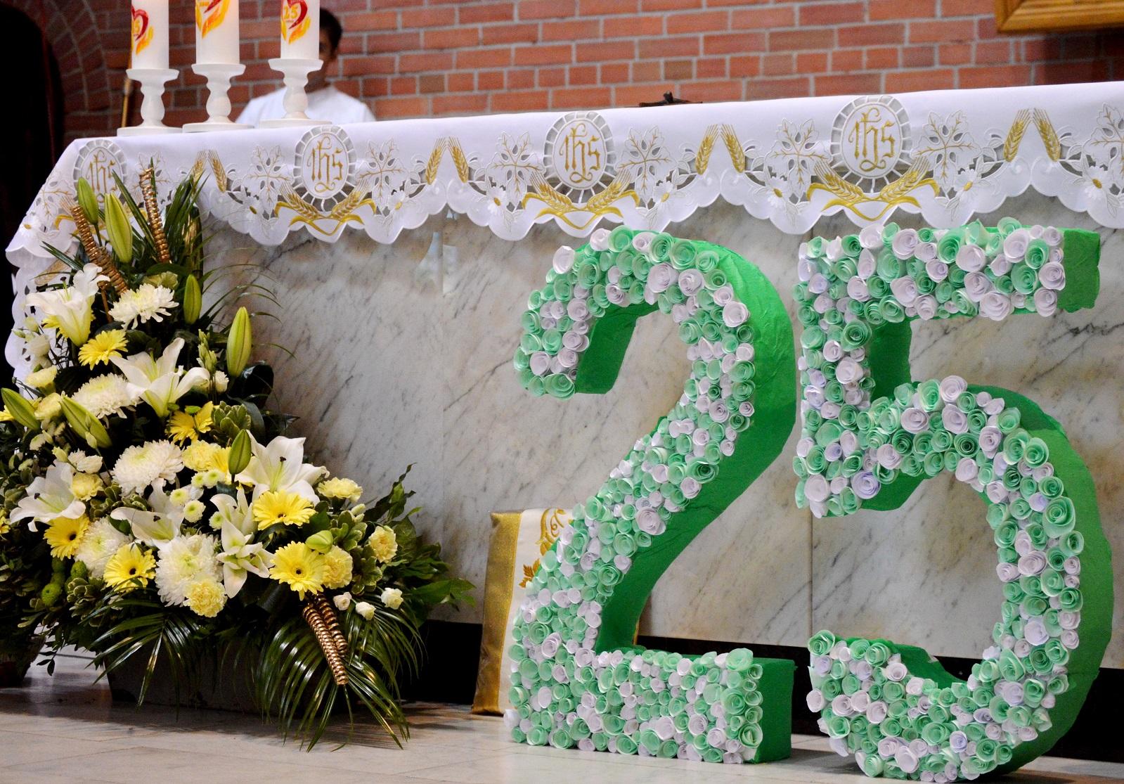Торжественная Месса в честь 25-летия присутствия Ордена елизаветок в России (ФОТО)