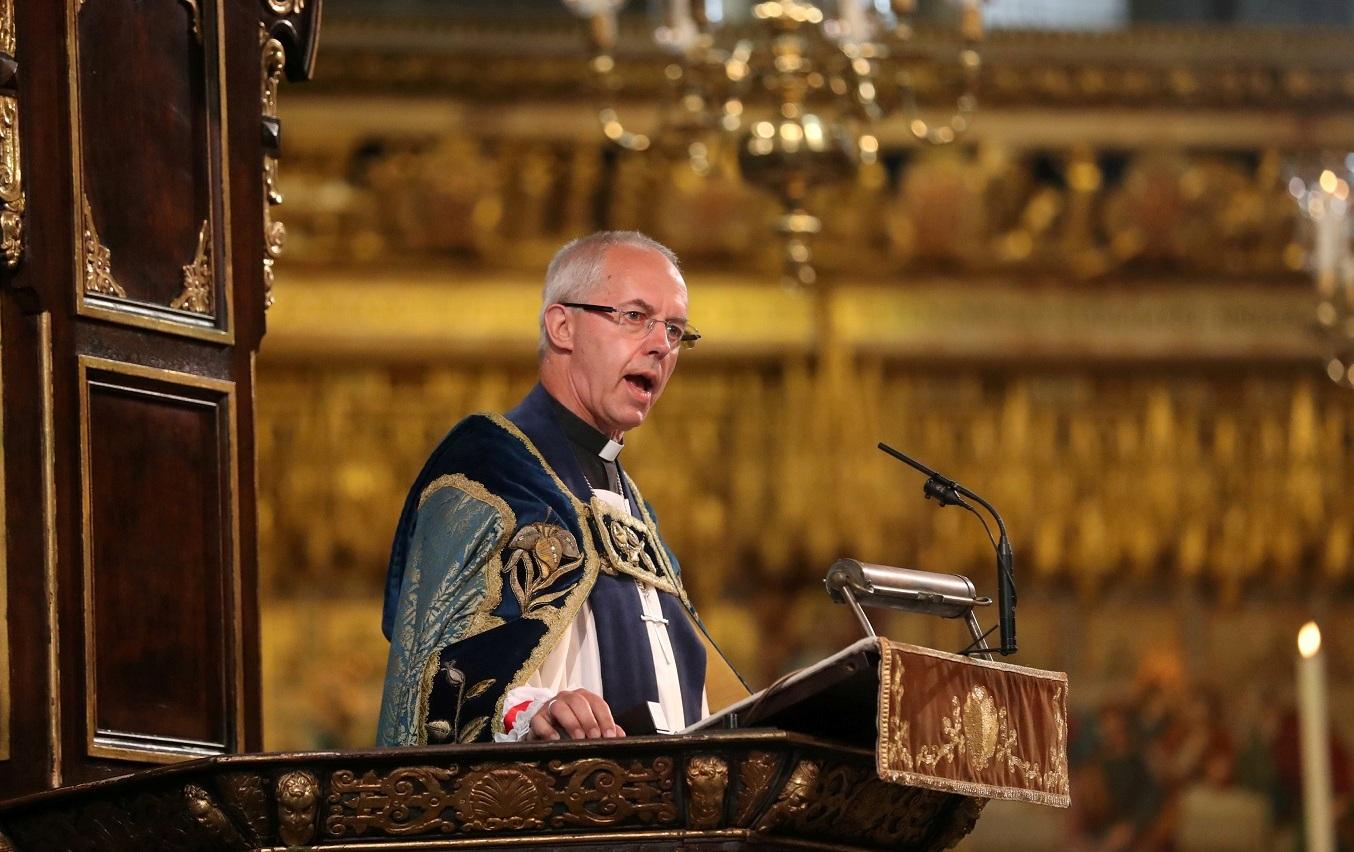 Архиепископ Кентерберийский в ООН поддержит традицию Римских Понтификов