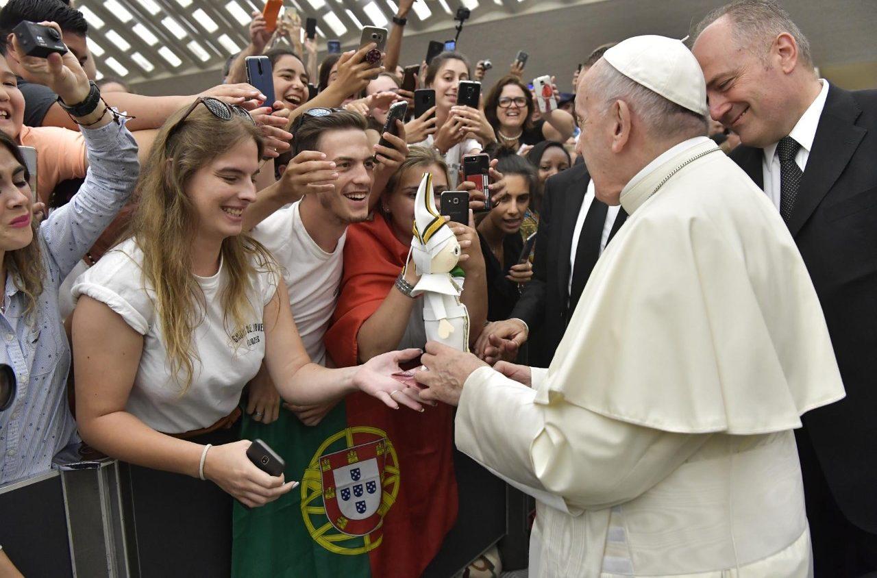Папа: признать собственную слабость и отвергнуть идолов