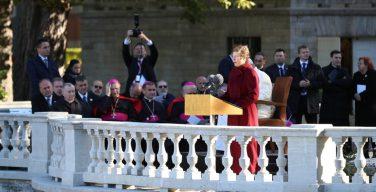 Приветственная речь президента Эстонии Керсти Кальюлайд Святейшему Отцу