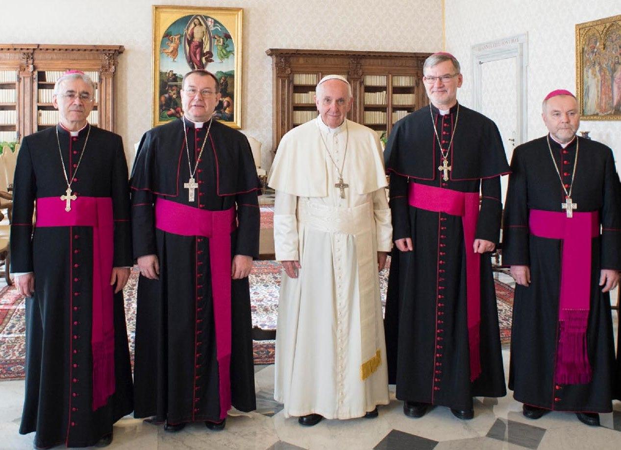 Письмо российских епископов Папе Франциску