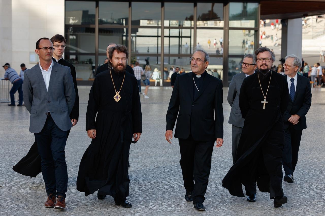 Митрополит Иларион (Алфеев) посетил святилище Фатимской Богоматери в Португалии