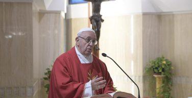 Проповедь Папы Франциска в праздник Воздвижения Святого Креста, 14 сентября 2018 г.