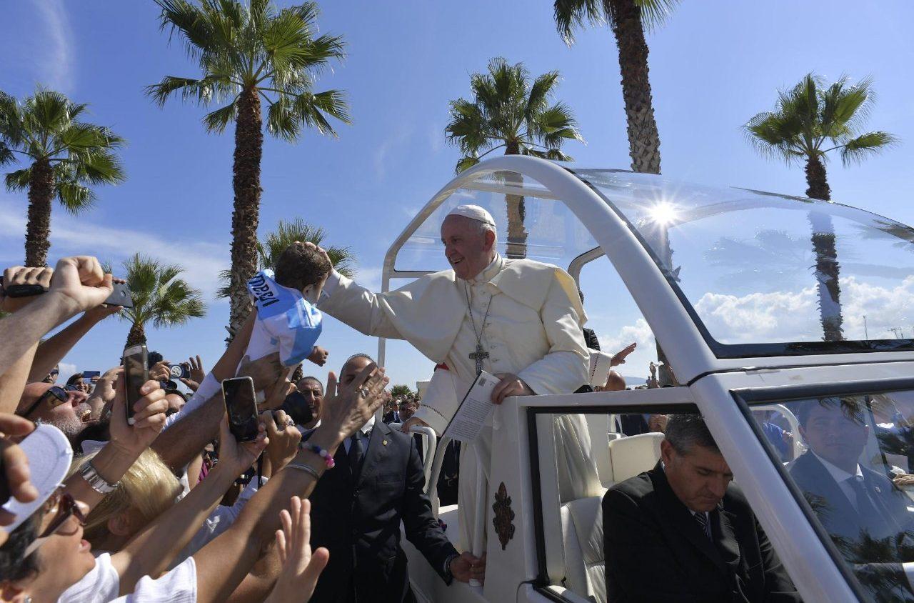 Пастырский визит Папы Франциска в Сицилию: Пьяцца-Армерина (+ ФОТО)
