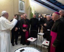 Обнародованы подробности встречи Папы с прибалтийскими иезуитами (+ ФОТО)