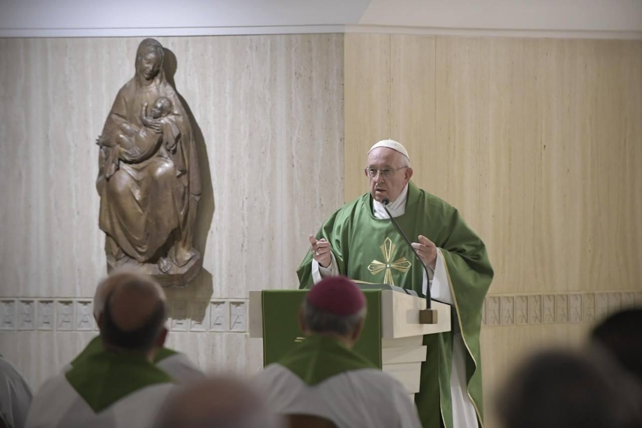 Папа: остерегайтесь «вежливых бесов»