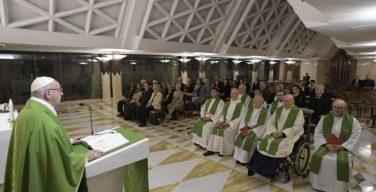 На Мессе в Доме Св. Марфы Папа Франциск размышлял о разных видах «закваски»