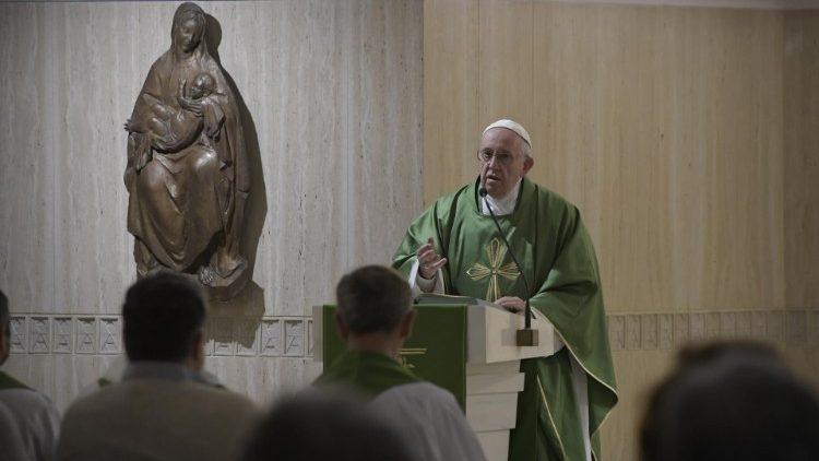 Папа Франциск на Мессе в Доме Св. Марфы об ожидании встречи с Христом