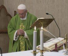 Папа на Мессе в Доме Св. Марфы: признать себя грешником — это первый шаг к сближению со Христом