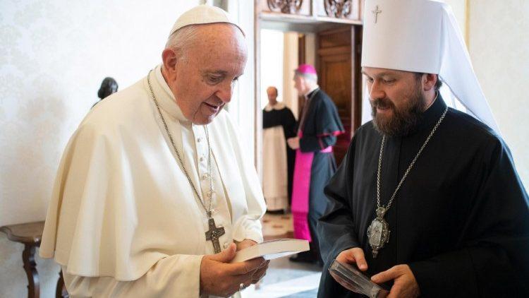 РПЦ выходит из Международной комиссии по богословскому диалогу между Римско-Католической и Православными Церквами, но будет поддерживать двусторонние отношения с Ватиканом