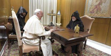 Папа Франциск встретился с Католикосом всех армян Гарегином II