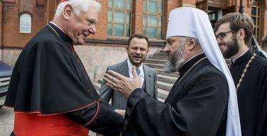 Некоторые подробности визита кардинала Герхарда Мюллера в Кузбасс (+ ФОТО)
