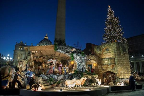В этом году на площади Святого Петра будут установлены рождественские ясли из песка