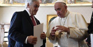 Папа встретился с президентом Республики Чили
