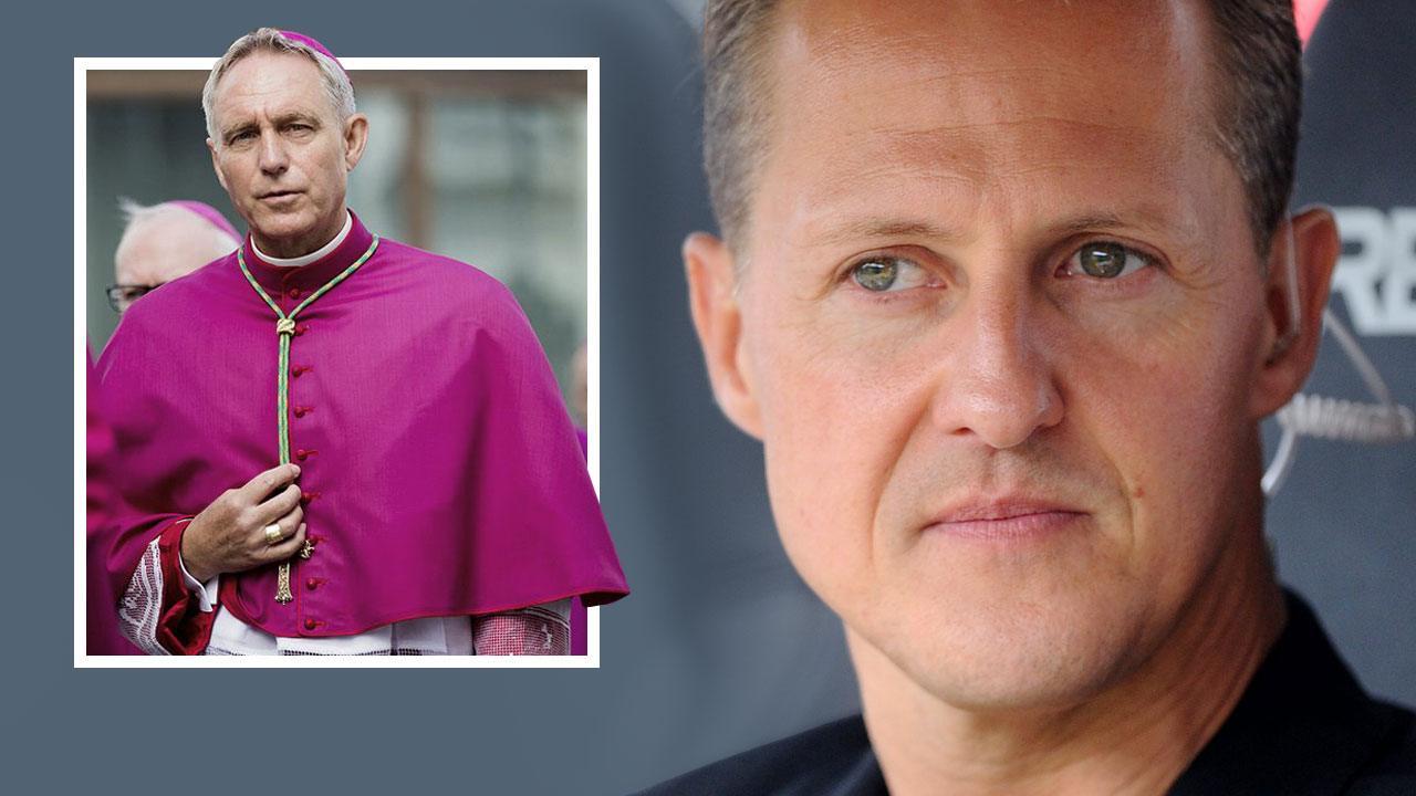 Архиепископ Георг Генсвайн навестил легендарного гонщика Михаэля Шумахера