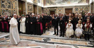 Папа Франциск встретился с албанской делегацией