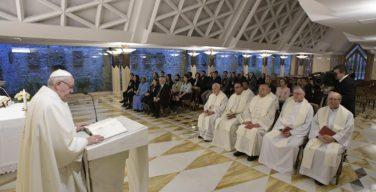 Папа Франциск на Мессе в Доме Св. Марфы: христианину следует творить добро, не взирая на воздаяние