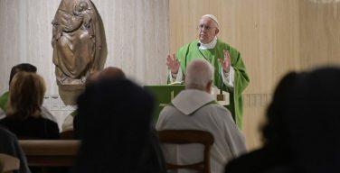 На Мессе в Доме Св. Марфы Папа Франциск размышлял о «растущей в тишине Церкви»