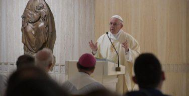 Папа Франциск на Мессе в Доме Св. Марфы размышлял о щедрости и великодушии