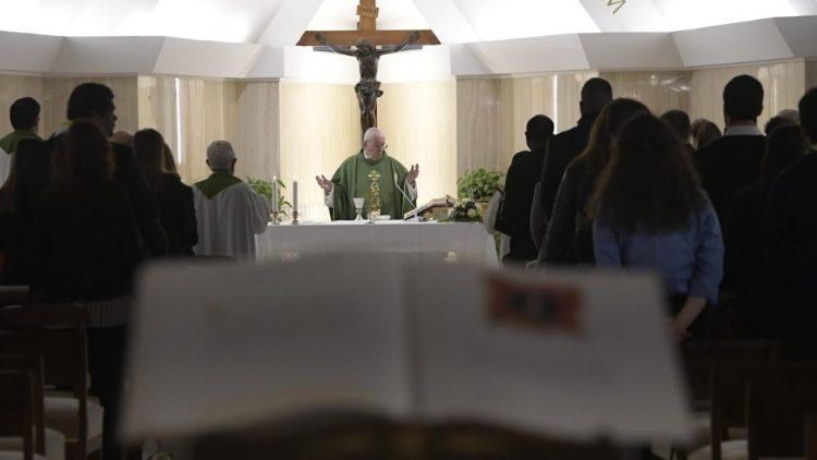 На утренней Мессе в Доме Св. Марфы Папа Франциск предложил задуматься, насколько мы готовы к встрече с Господом в вечности