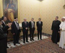Папа встретился с делегатами Главного раввината Израиля (ВИДЕО)