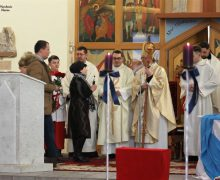 Владыка Иосиф Верт посетил с пастырским визитом приход Непорочного Зачатия Пресвятой Девы Марии в Челябинске