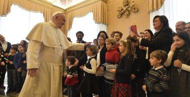 Папа — детям из «Католического действия»: будьте руслами доброты (+ ФОТО)