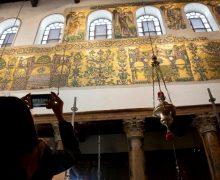 В храме Рождества Христова в Вифлееме отреставрированы мозаики (ФОТО)