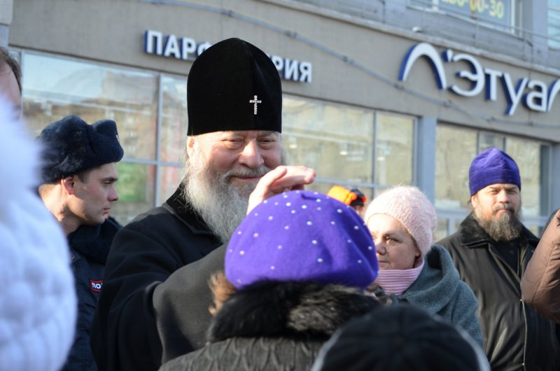 Митрополит Тихон покидает Новосибирск