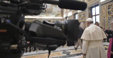 Папа: СМИ – это дар Бога