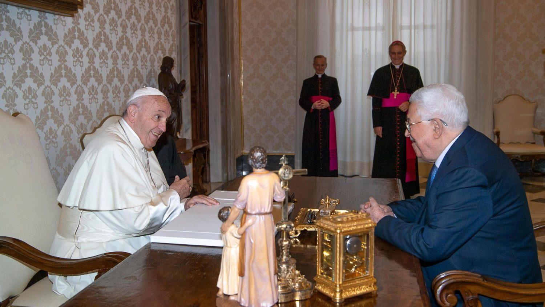 Папа Римский высказался за принцип «двух государств» в ближневосточном конфликте