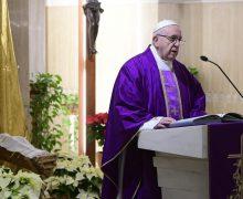 Папа: cв. Иосиф – человек мечты, крепко стоящий на земле (+ ФОТО)