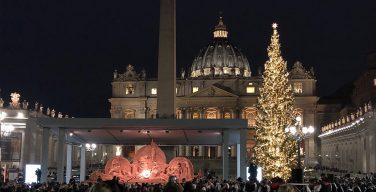 Папа: рождественская ель и ясли помогают созерцать тайну Бога (+ ФОТО)