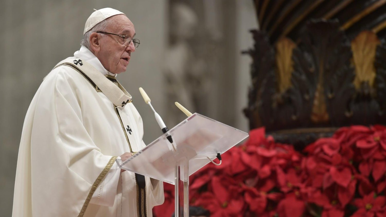 Проповедь Папы Франциска на Мессе Навечерия Рождества. 24 декабря 2018 г., собор Св. Петра