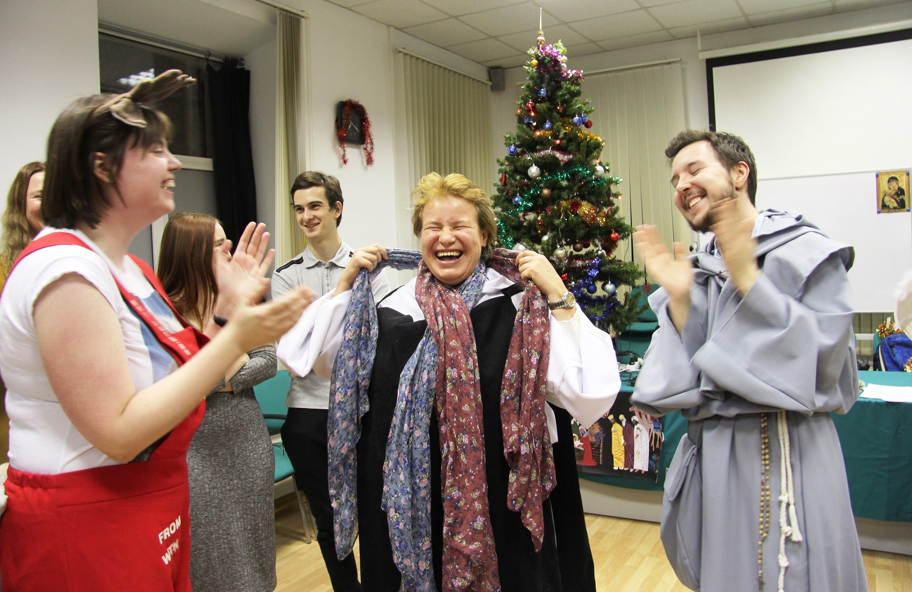 Институт Святого Фомы провел Рождественскую встречу друзей (ФОТО)