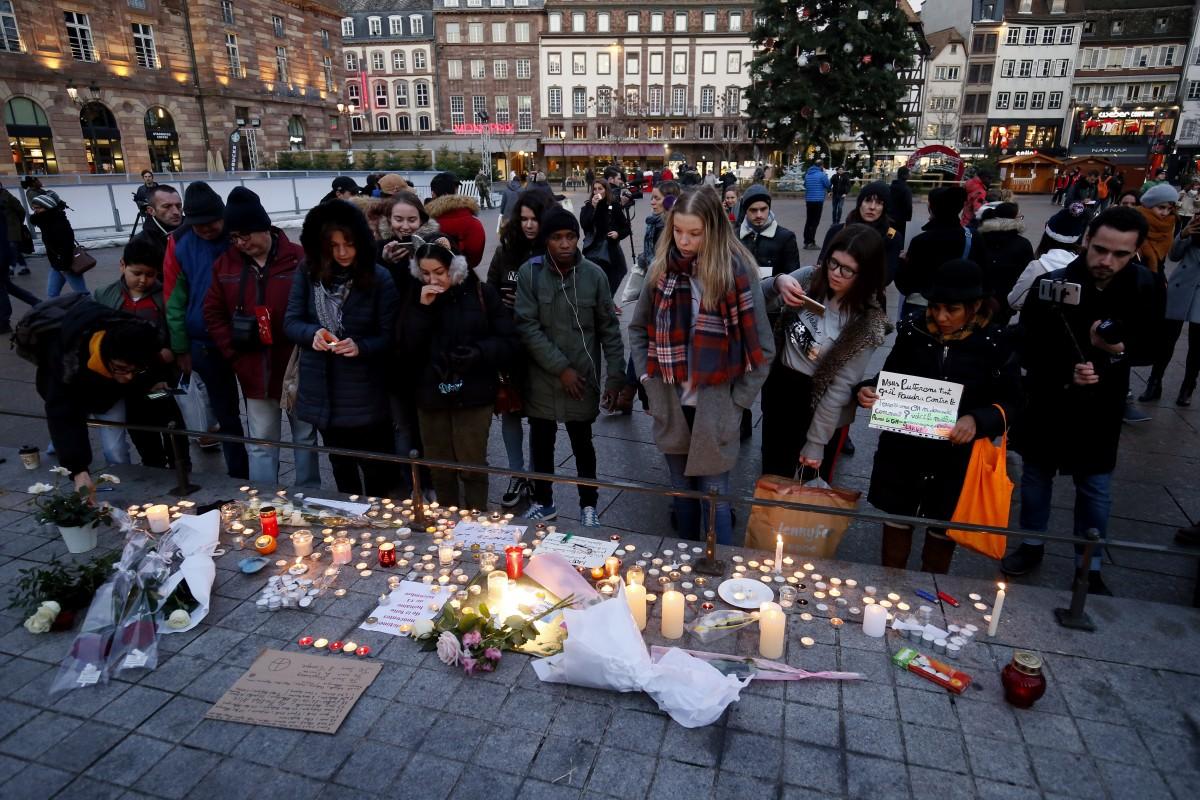 Папа Франциск выразил свои соболезнования после нападения в Страсбурге