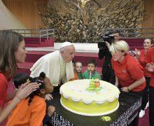 Папа Франциск празднует свой 82-й день рождения