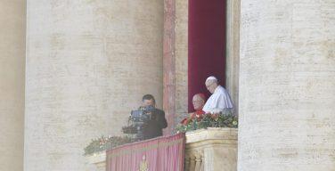 Послание Urbi et Orbi Святейшего Отца Франциска