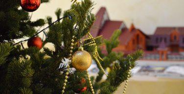 Курия Преображенской епархии принаряжается к Рождеству (ФОТО)